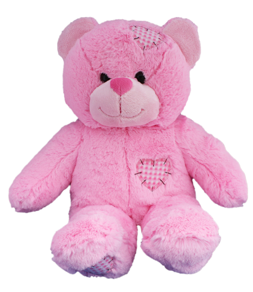 """Pink Patch"" Bear"