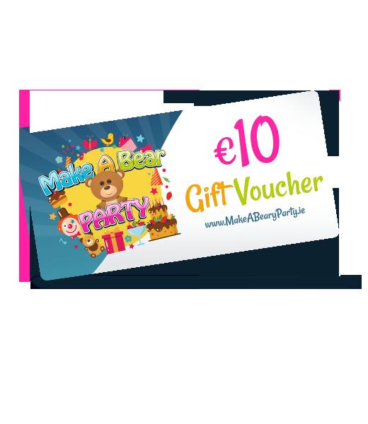 Birthday Party Vouchers €10