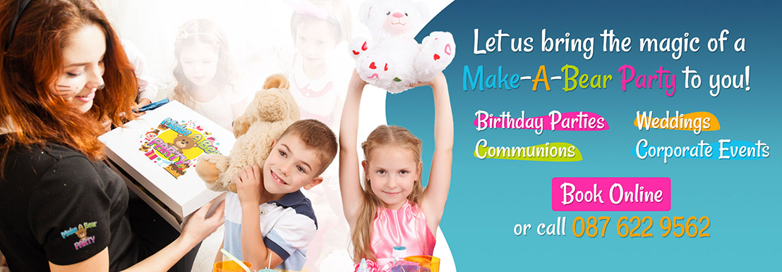 Book Your Make a Bear Party Package