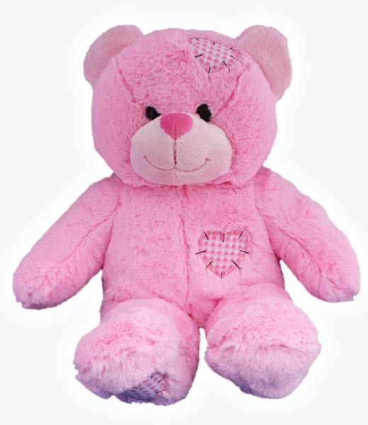 Pink Patch on Make A Bear Party